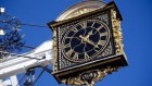 Famous High street clock
