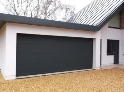 hormann l ribbed lpu 40 sectional garage door ndc. Black Bedroom Furniture Sets. Home Design Ideas
