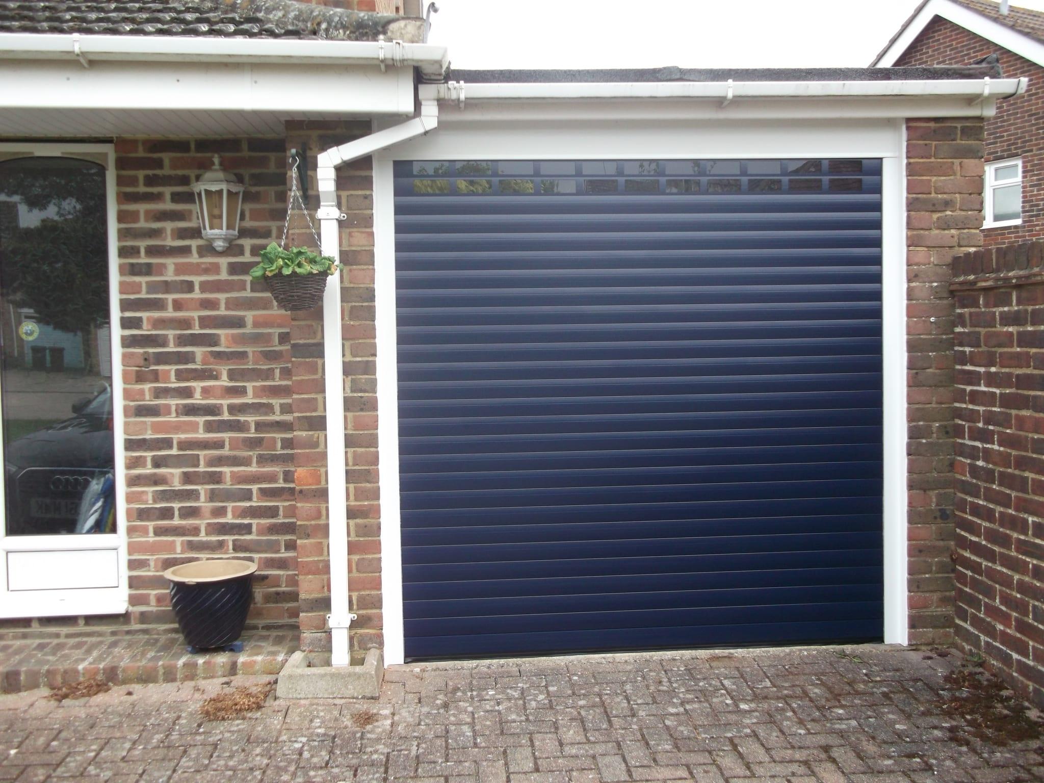 Seceuroglide insulated sectional garage door georgian cassette - Seceuroglide Excel Roller Door