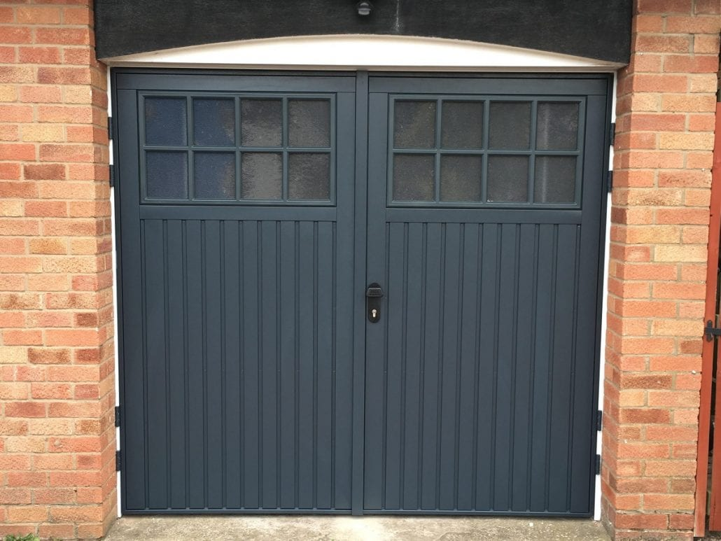 Side hinged garage doors side hung garage doors wooden for Garage side entry door