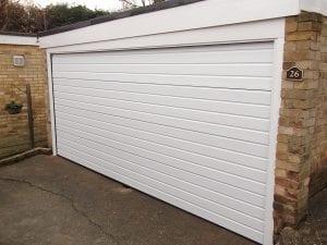 Garador Linear Small, sectional garage door