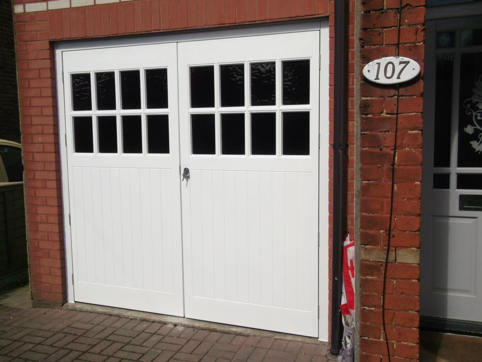Side Hinged Garage Doors | Side Hung Garage Doors, Wooden Garage ...
