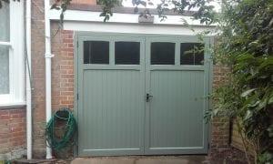 Woodrite Coleshill Side Hinged garage doors