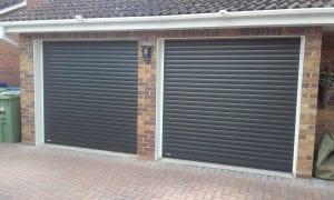 SWS Seceuroglide Excel roller shutter garage doors