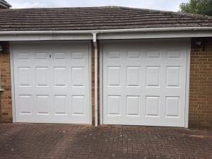 Garador Georgian Retractable Up and Over garage doors