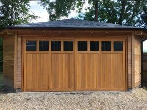 Woodrite Coleshill Double Retractable