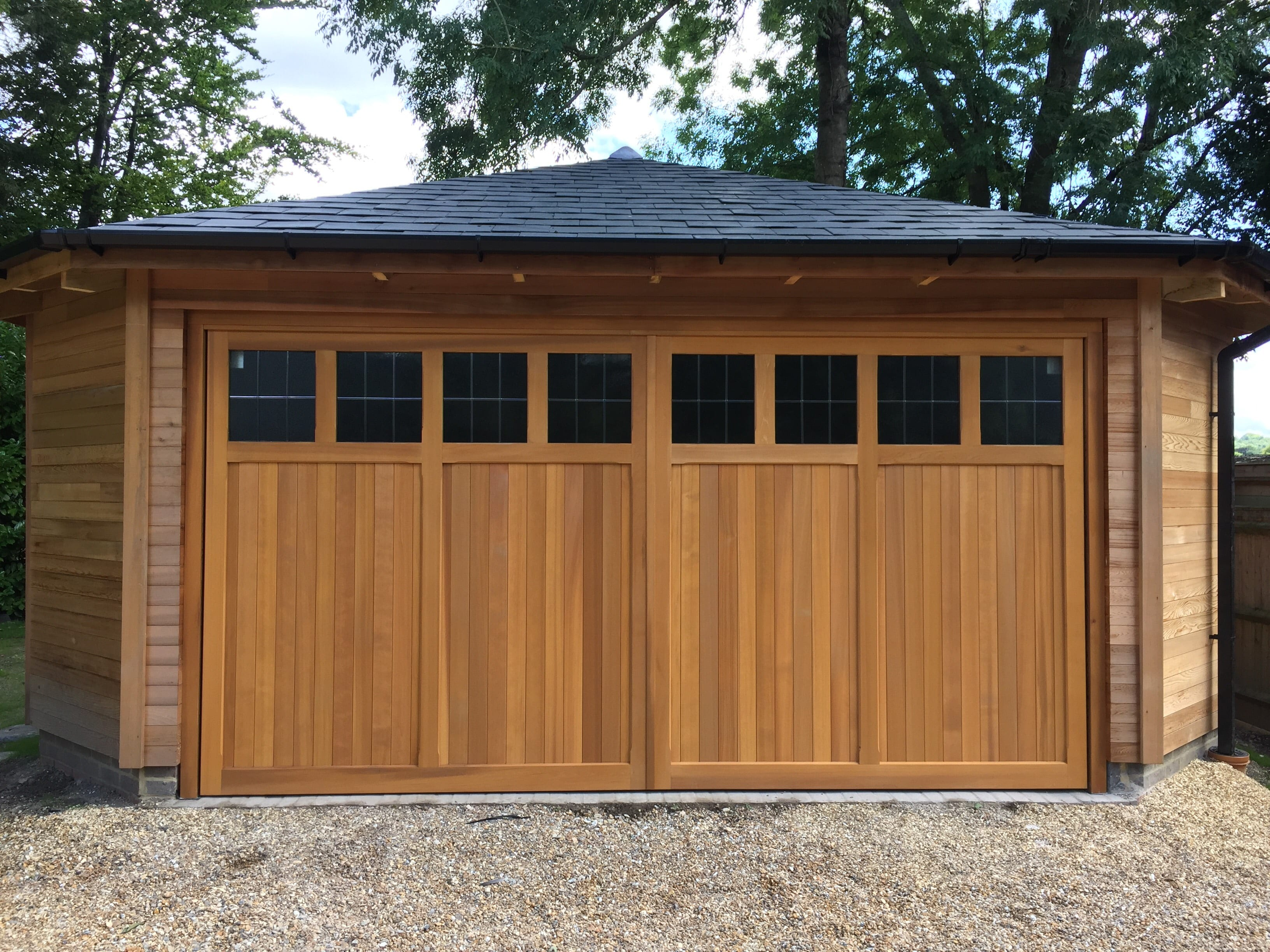 Woodrite Coleshill Double Retractable