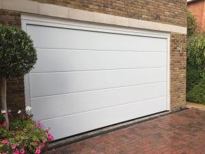 Garador Linear Large sectional garage door