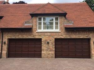Hormann Timber hemlock Sectional garage doors