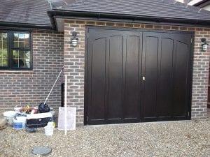 Woodrite Muirfield Side Hinged garage doors