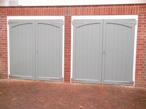 Woodrite Chartridge Wide Side hinged garage doors