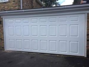 CDC Richmond GRP Retractable Garage door