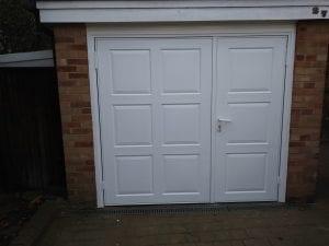 Wessex GRP Majestic Side Hinged garage doors