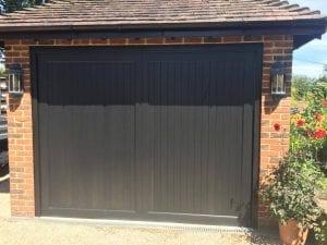 Woodrite Barnham Retractable Up and Over garage door