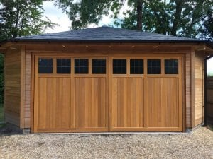 Woodrite Coleshill Retractable Garage door