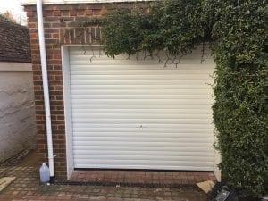 Seceuroglide Manual roller shutter garage door