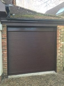 Securoglide Compact roller shutter garage door