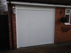 Seceuroglide Compact roller shutter garage door