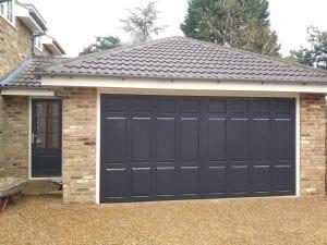 Woodrite Dorchester Retractable up and over garage door
