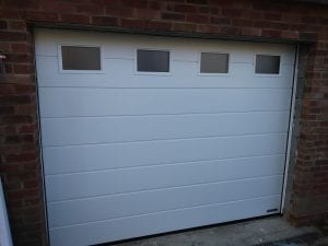 Garador Linear Medium premium sectional garage door