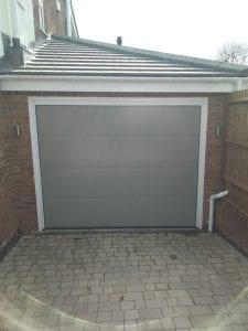 Garador Linear Large premium sectional garage door