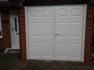 Garador Cathedral Side hinged garage doors