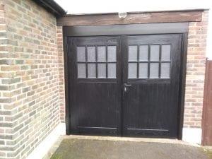 Wessex Sherwood GRP side hinged garage doors