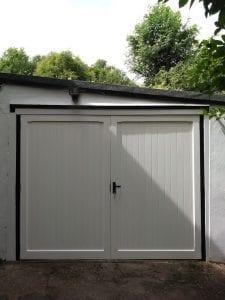 Woodrite Chalfont side hinged garage doors