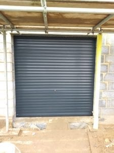 Manual Seceuroglide Roller shutter garage door