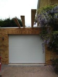 Seceuroglide Excel roller shutter garage door