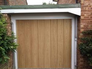 Wessex GRP Rippon retractable up and over garage door