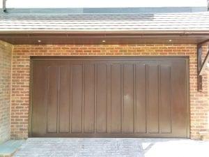 Garador Penshurst GRP retractable up and over garage door