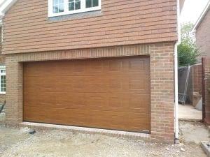 Garador Georgian Sectional garage door