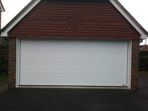 Garador Georgian Premium Sectional garage door