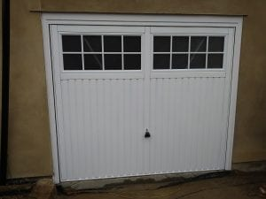 Garador Salisbury Canopy up and over garage door