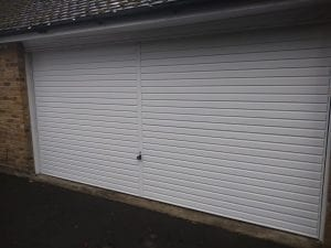 Garador Horizon retractable up and over garage door