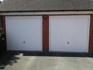 Two Garador Carlton Retractable up and over garage doors