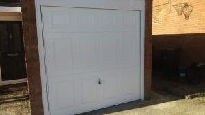 Garador Beaumont Canopy up and over garage door