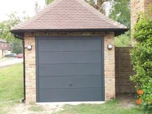 Garador Ascot Canopy up and over garage door
