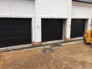 3 Ryterna Georgian Sectional garage doors